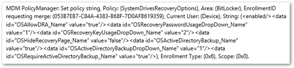 DeviceManagement-Enterprise-Diagnostic-Provider output from the general tab
