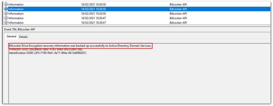 Backup to Azure AD DS