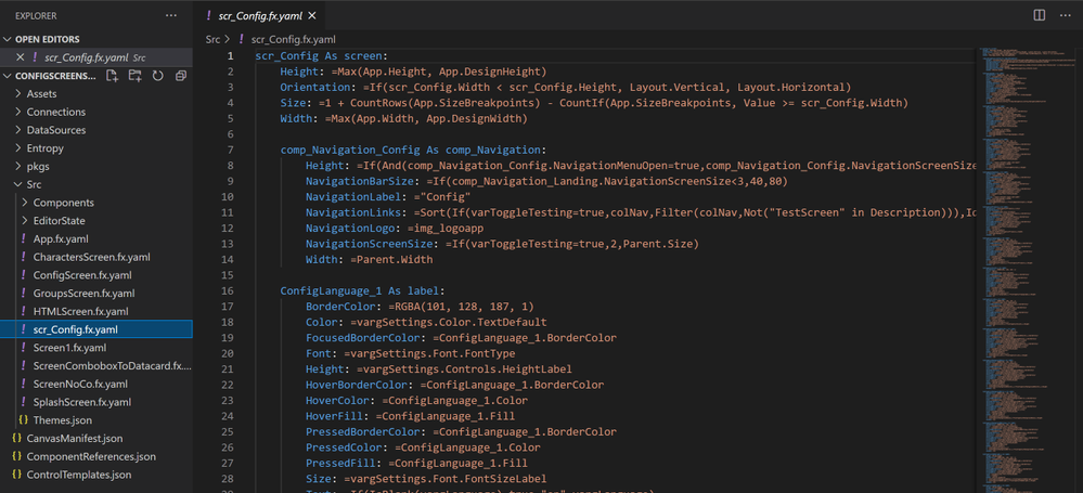 Visual Studio Code opening a whole Folder and Sub Folders to edit individual files