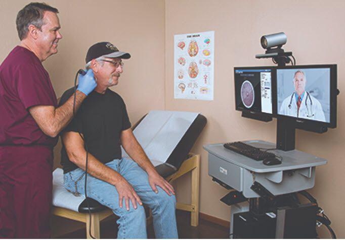 Sample Patient Examine Room