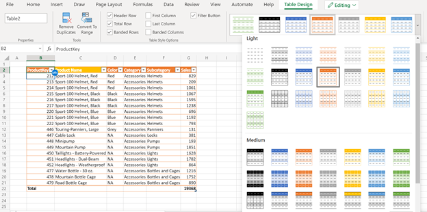 thumbnail image 5 of blog post titled What's New in Excel for the web