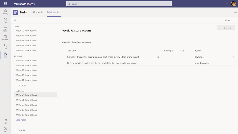 thumbnail image 18 of blog post titled   							What's New in Microsoft Teams | April 2021