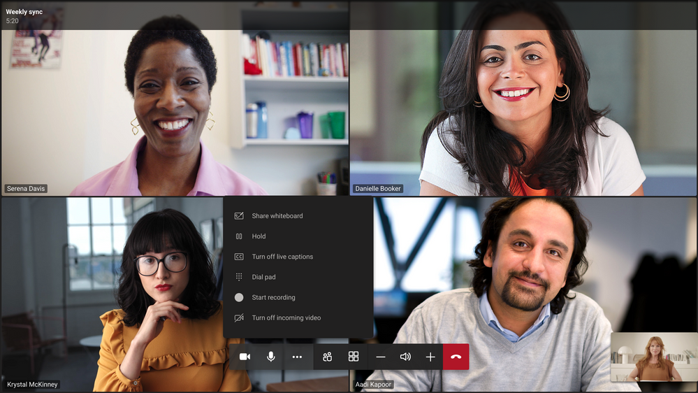 thumbnail image 6 of blog post titled   							What's New in Microsoft Teams | April 2021