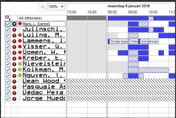 Scheduling Assistant strange font.JPG
