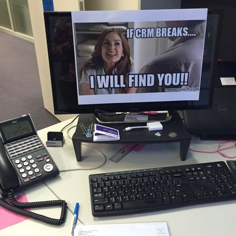 My staff decorated my office with memes on my last day