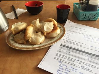 The learning journey - preparing for my first tech exam over dumplings