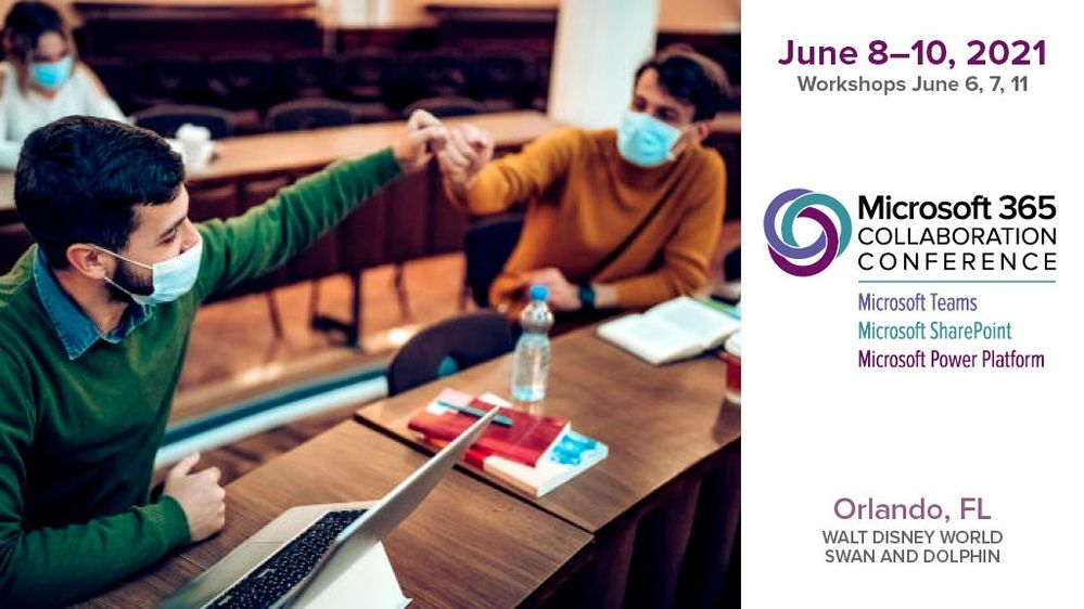 The event brings together business leaders, IT pros, developers, and consultants safely for those who can travel as the vaccine rollout continues and virtually for those who are unable to join in-person.