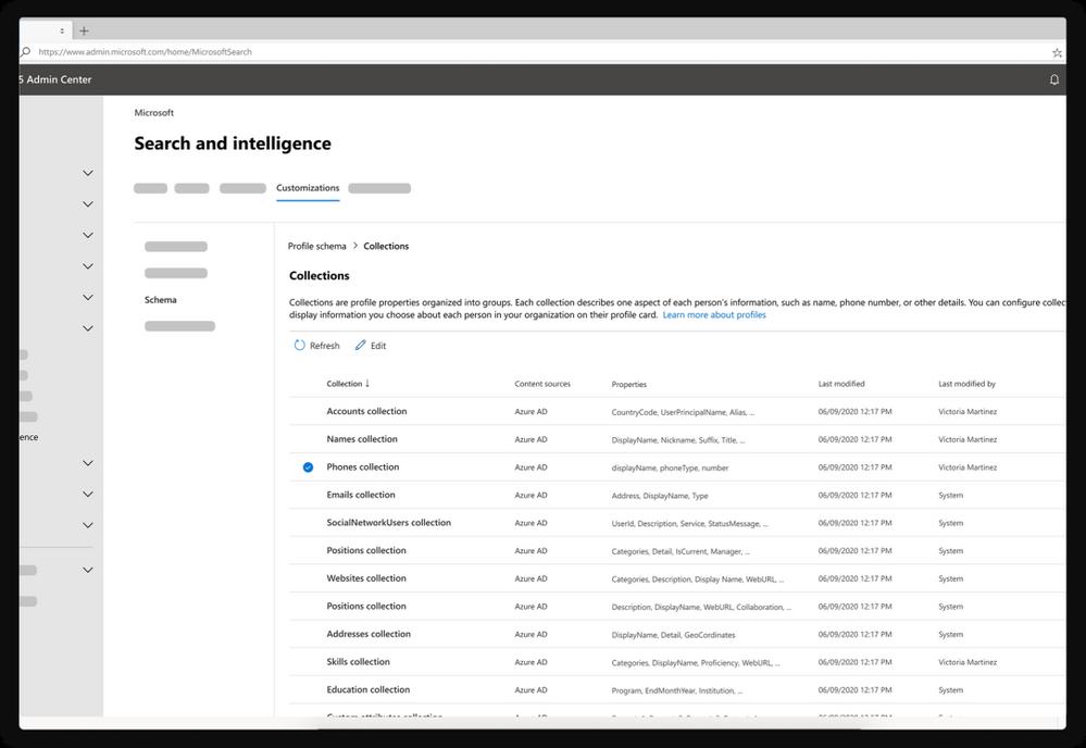 Search & intelligence dashboard in Microsoft 365
