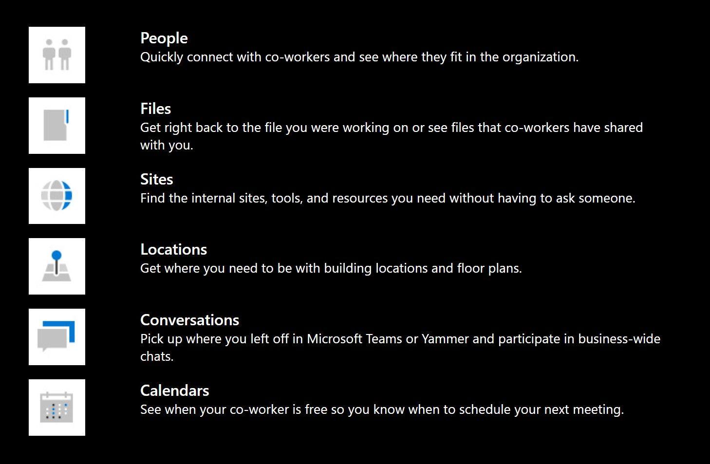Microsoft Search in Bing