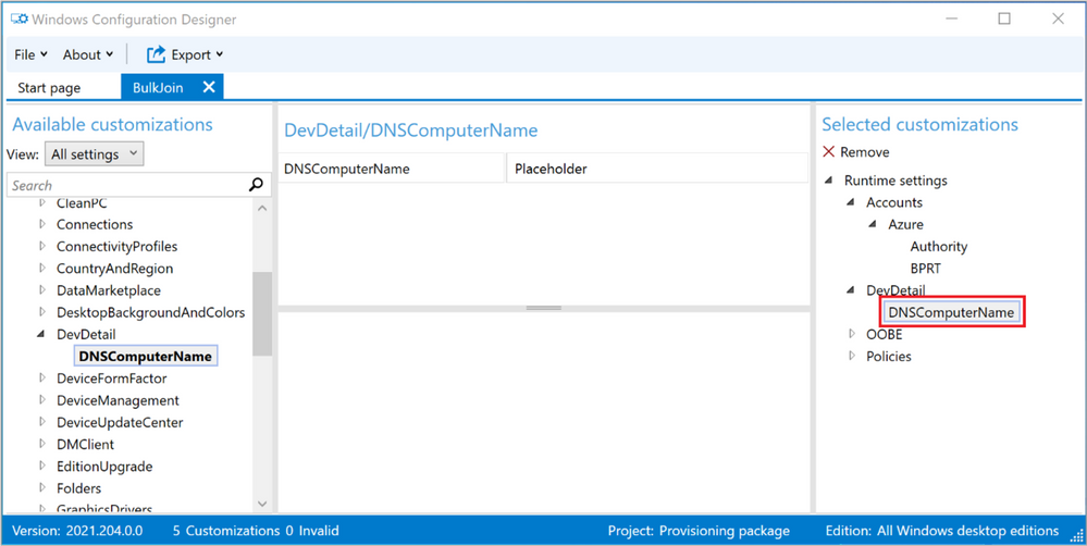 Figure 15: DNSComputerName removal