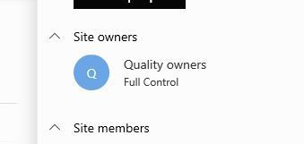 Owners and Members