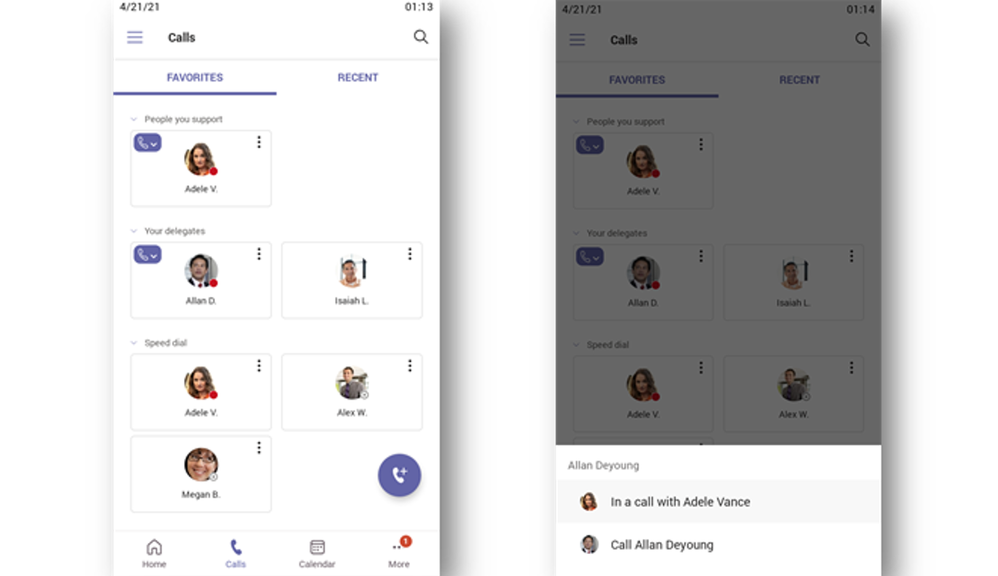 Thumbnail image 4 of blog post titled what's new for teams phones | june 2021