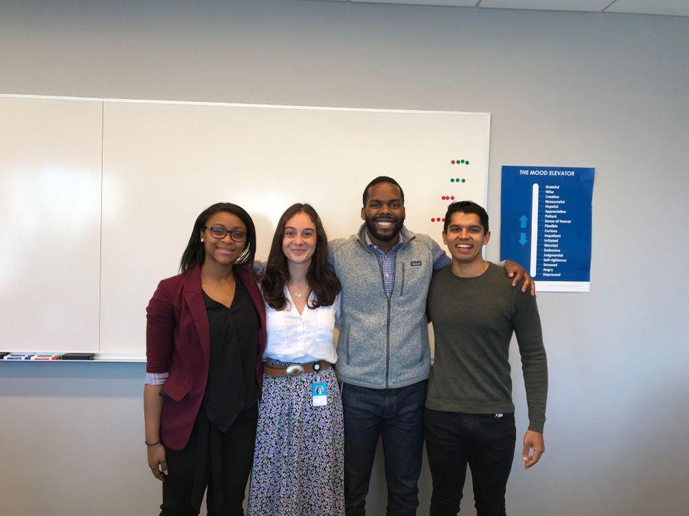 Final presentations for 2019 M&O Summer interns