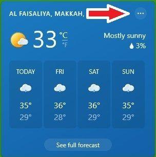 Weather App Card