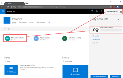 Office 365 profile picture not displayed on all services-1-SharePoint and Office 365 Suite Bar after change