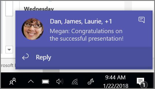 Hyperlink custom text in messages