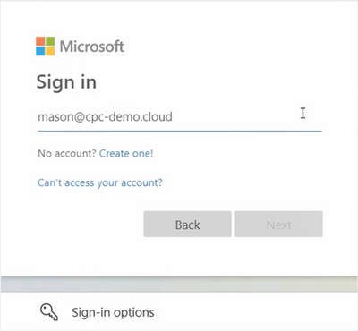 Use your Azure AD credentials to logon
