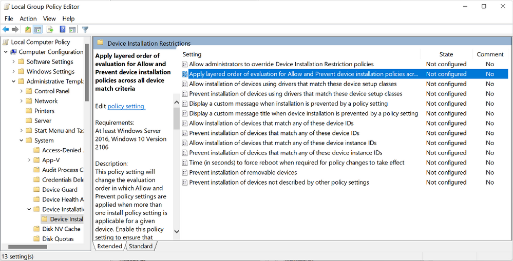 Microsoft Introduced Layered Group Policy   Introducing the ability to apply layered Group Policy