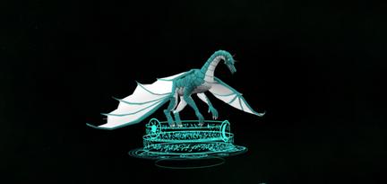 3D Render of a Dragon