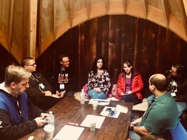 Deep-dive discussions on mentoring best practices @ the Treehouse Mentoring Day
