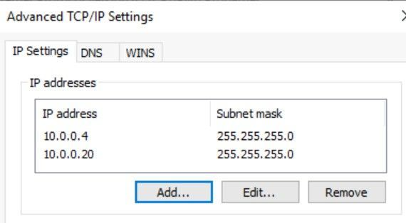 Adding a secondary private IP to the guest OS