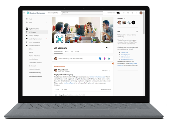 Yammer for IC - All Company from a laptop.png