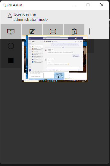 Windows 11 - Quick Assist Issue.PNG