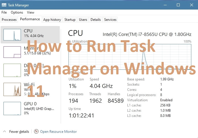How to Run Task Manager on Windows 11 (6-Ways)