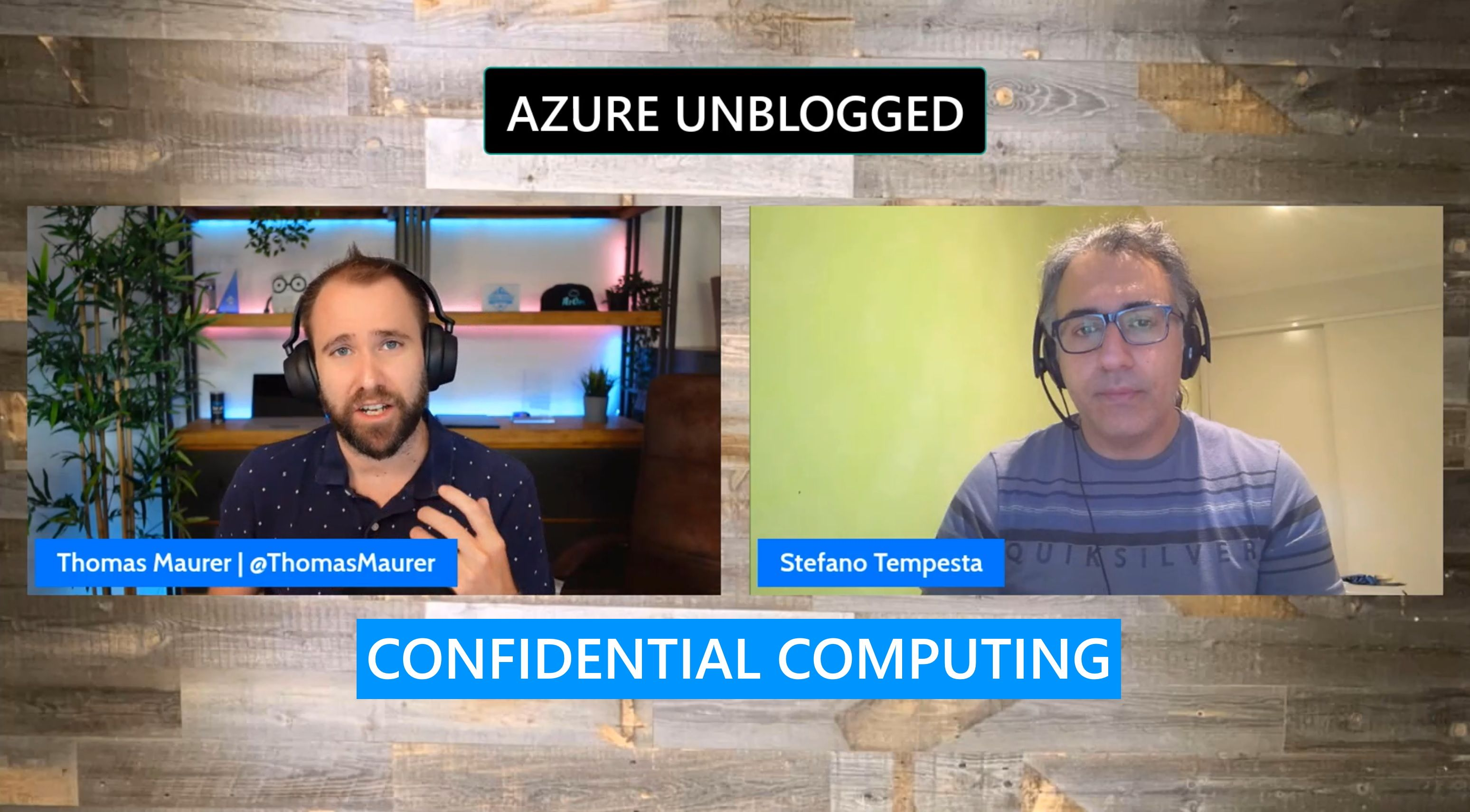 Azure Unblogged - Azure Confidential Computing