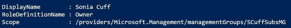 Azure RBAC at the management group level