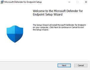 A screenshot of the new installer