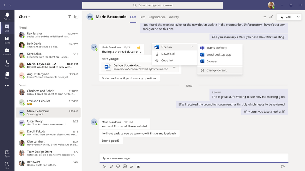 thumbnail image 18 of blog post titled              What's New in Microsoft Teams | September 2021