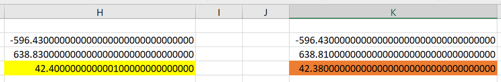 Sum - Excel Issues H & K Columns.PNG