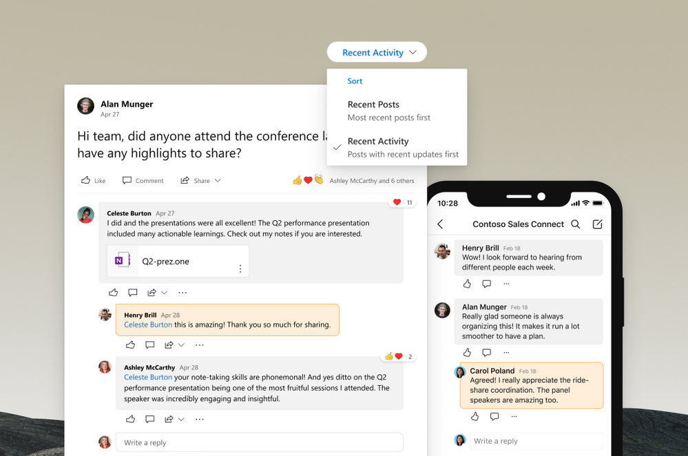 Nested replies and other improvements to the conversation