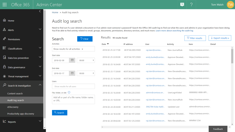 Graphic: Review audit logs for all privileged access management activity.