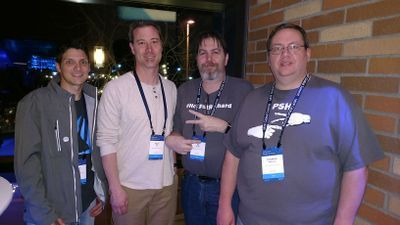 The Comms vNext Team (Josh Blalock, Jonathan McKinney, Adam Ball, & Pat Richard)