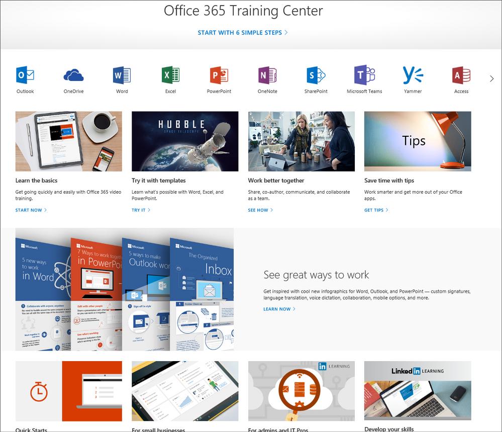 Office 365 Training Center
