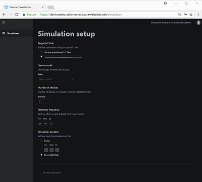 Constructing a simulation