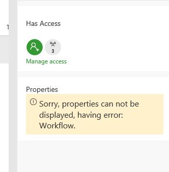 Properties pane - modern UI