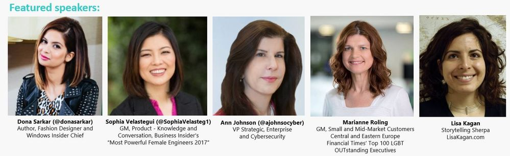Introducing our awesome Diversity & Tech Pre-Day speaker lineup!