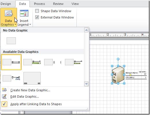 Data Graphics in Visio 2010 - Microsoft Tech Community - 237456