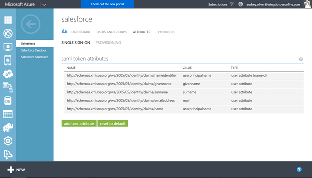 AzureAD now supports custom unique IDs in SAML tokens for gallery