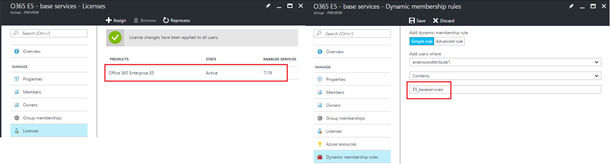 Announcing the public preview of Azure AD group-based license