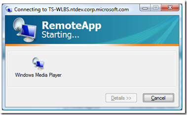 How to make RemoteApp show the application icon when starting