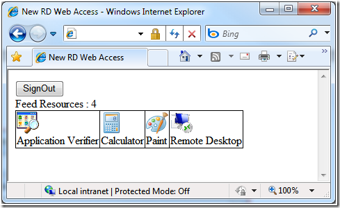 RemoteApp and Desktop Connection Feed Extensibility