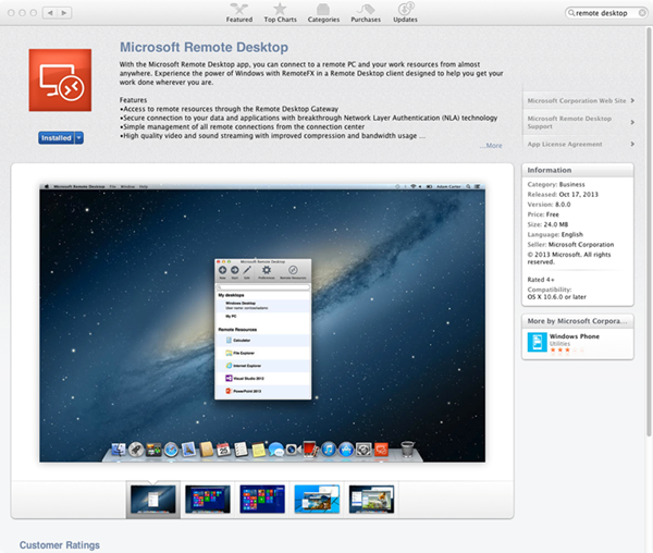 Wow: Remote Desktop Goes Cross Platform! - Microsoft Tech Community