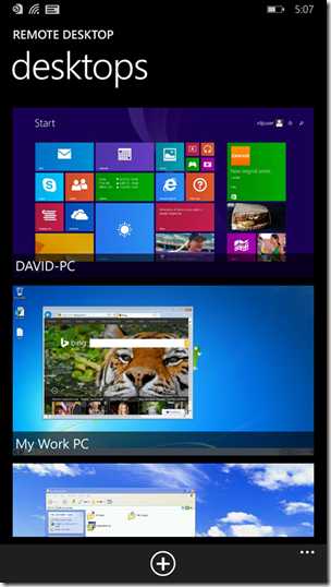 Microsoft Remote Desktop Preview V8 1 3 Update For Windows Phone 8 1