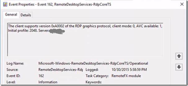 Remote Desktop Protocol (RDP) 10 AVC/H 264 improvements in