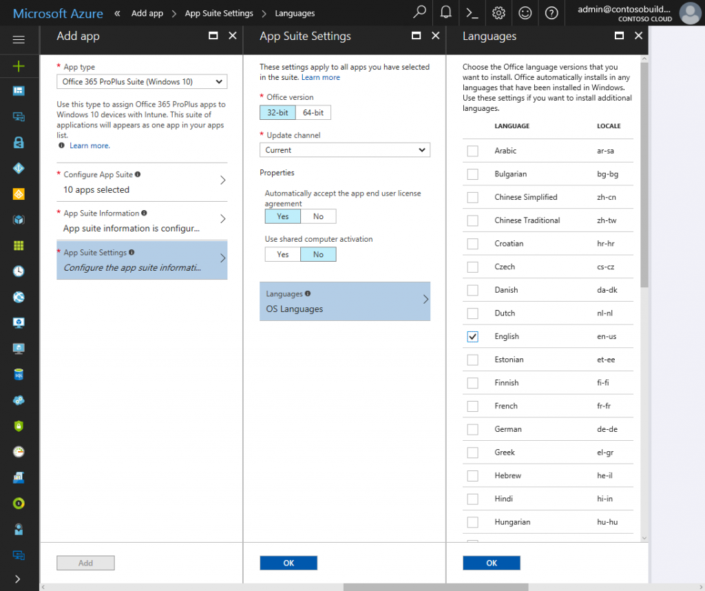 Deploying Office 365 ProPlus with Microsoft Intune