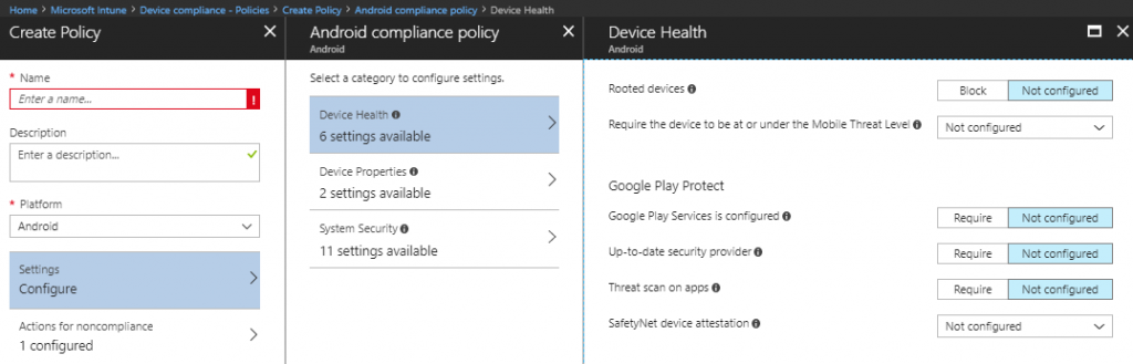 Manage Google Play Protect with Microsoft Intune - Microsoft